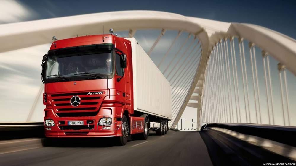 Заказать Международная перевозка сборных грузов из Италии