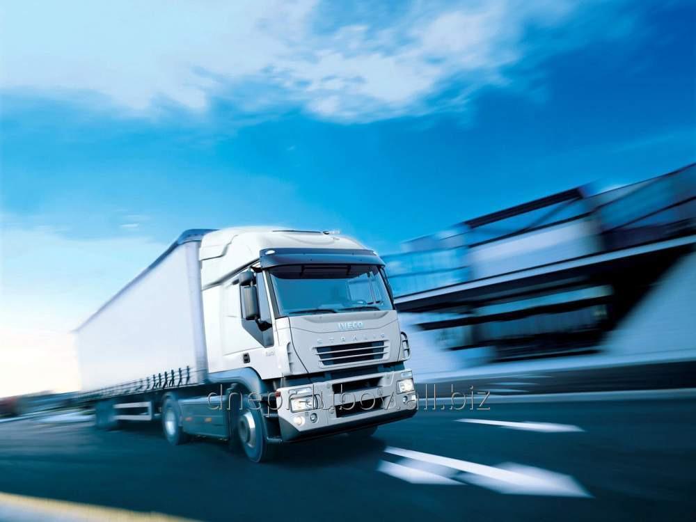 Международная перевозка сборных грузов  из стран Европы