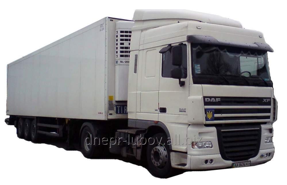 Order Transportation of food from Uzbekistan