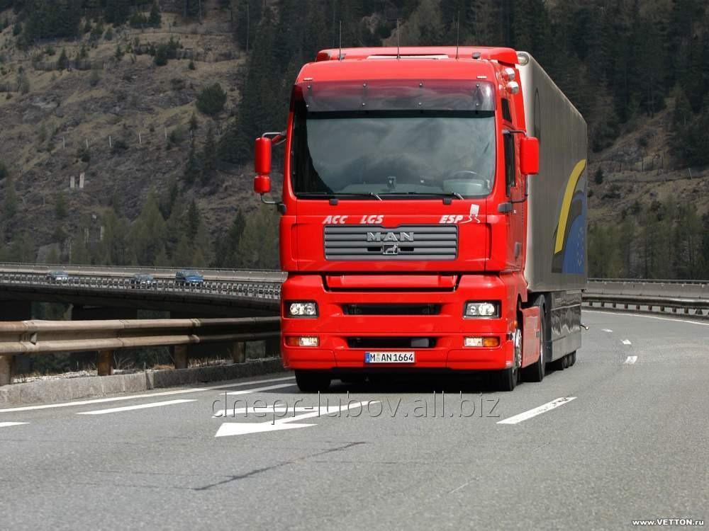 Перевозки грузов международные в Италию