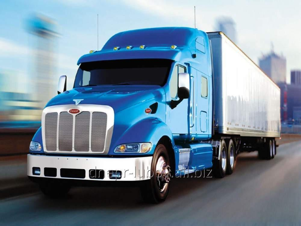 Перевозки грузов международные в страны Европы