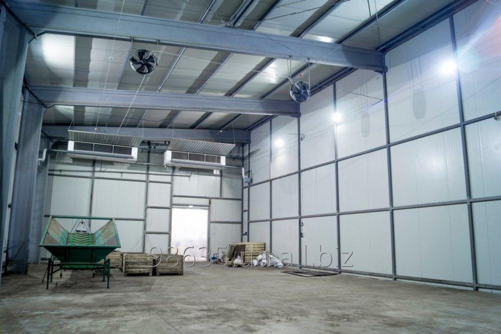 Строительство и обслуживание холодильных и промышленных камер