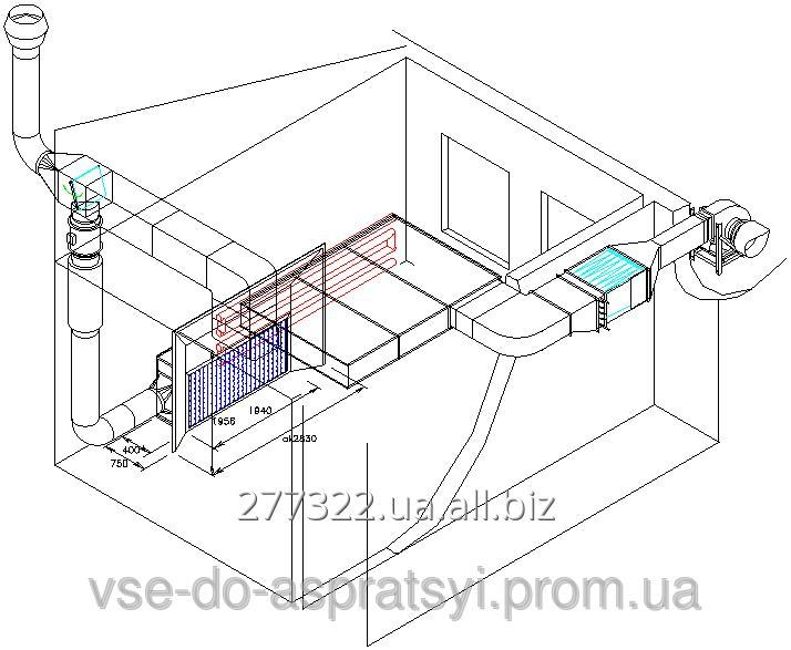 Заказать Проектирование и изготовление покрасочных Стендов