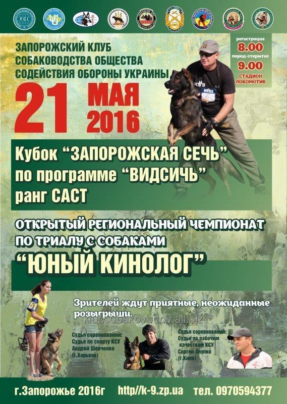 """Заказать Выставка 21.05.16 - подготовка собак телохранителей """"Видсич"""""""
