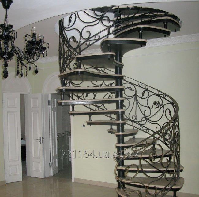 Заказать Винтовая лестницы изготовление под заказ