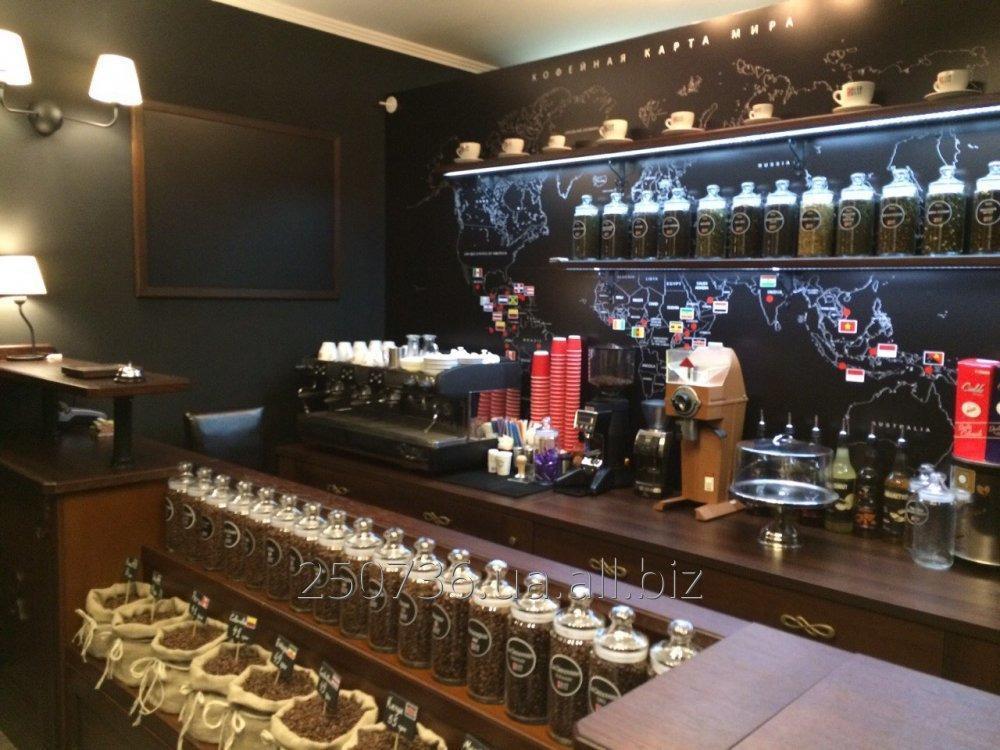 Заказать Франчайзинг сети мини-кофеен и магазинов кофе.