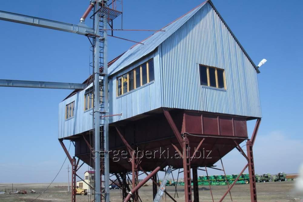 Заказать Строительство зерноочистительных комплексов КЗ-50