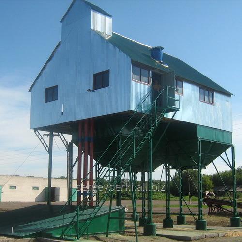 Заказать Строительство зерноочистительных комплексов КЗ-100