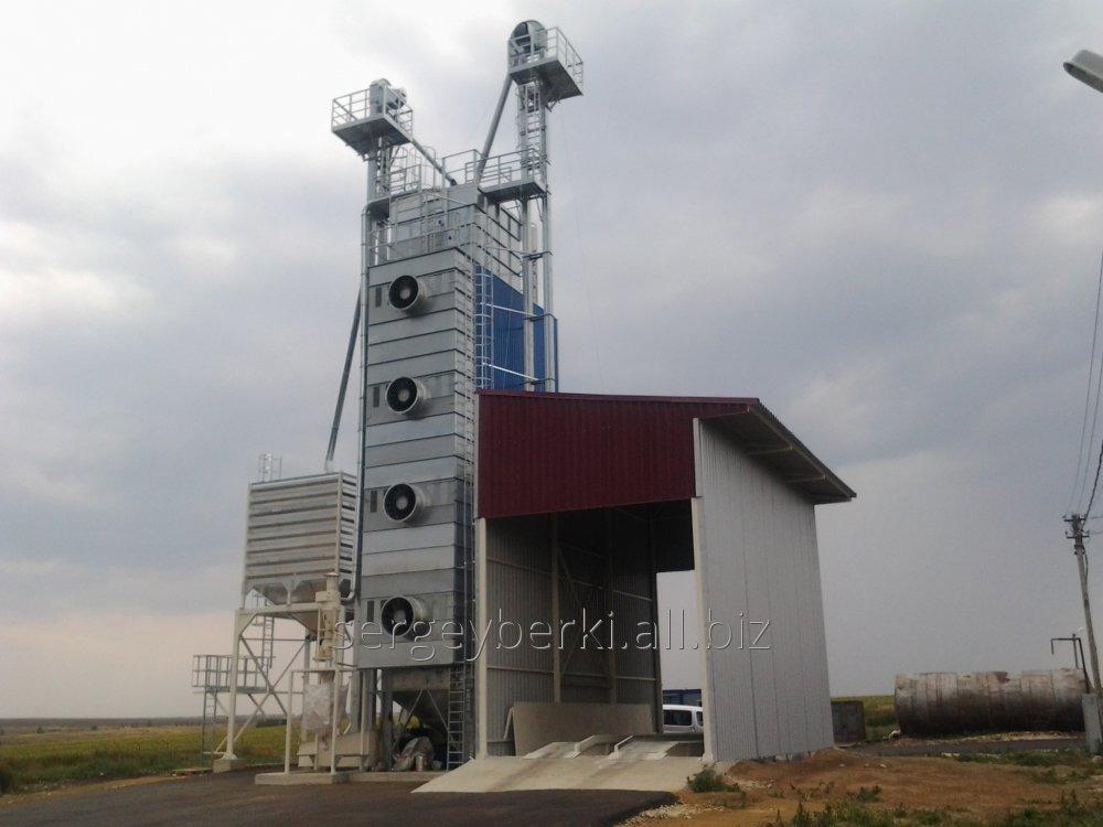 Заказать Строительство зерносушильных комплексов КЗС-20
