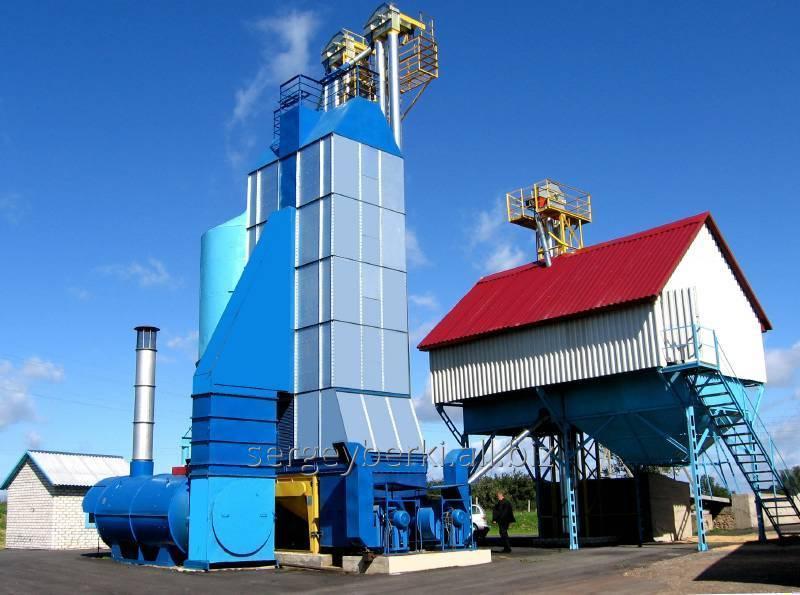 Заказать Строительство зерносушильных комплексов КЗС-30