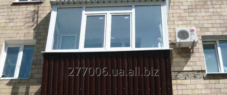 Заказать Наружная обшивка балкона