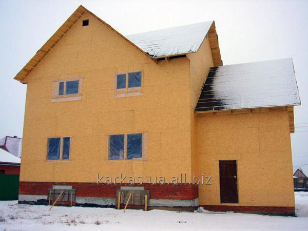 Заказать Проектирование каркасного дома №1