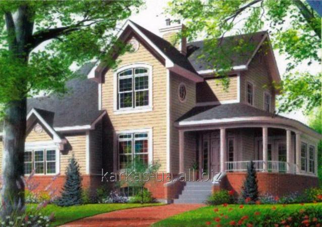 Заказать Проектирование каркасного дома №6