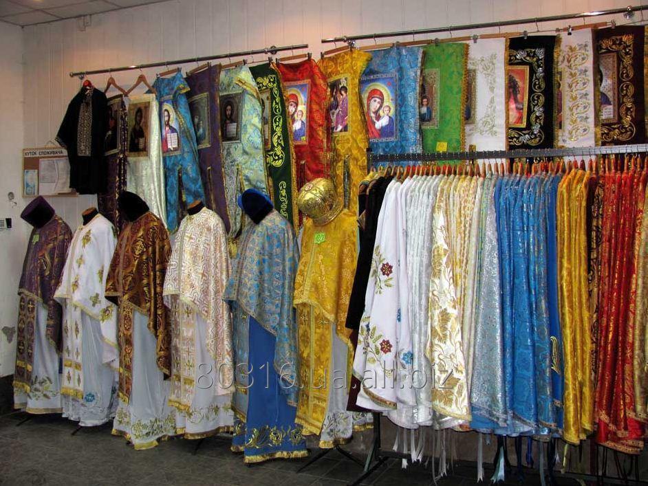 Заказать Пошив церковной одежды и утвари