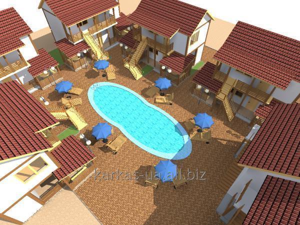 Заказать Строительство мини-гостиниц проект № 8