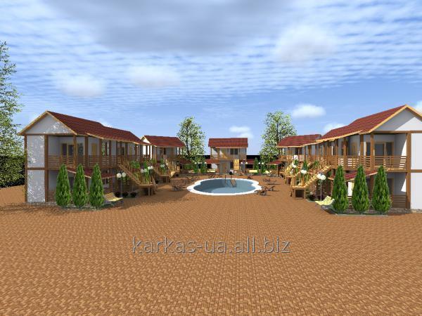 Заказать Строительство мини-гостиниц проект № 10