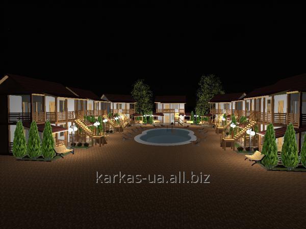 Заказать Строительство мини-гостиниц проект № 11