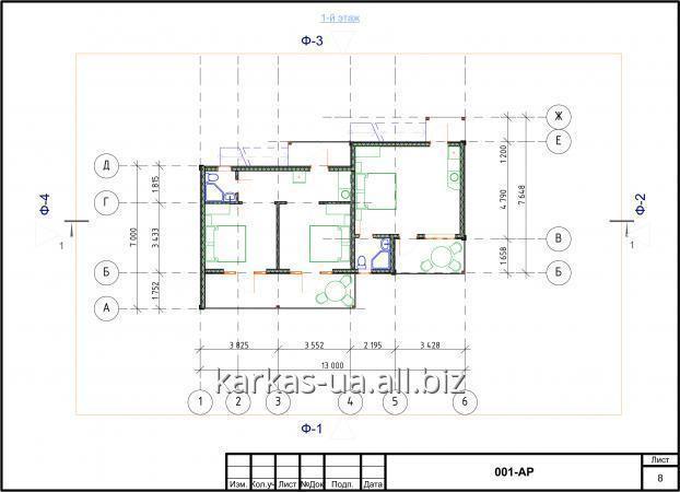 Заказать Проектирование мини-гостиниц проект № 15