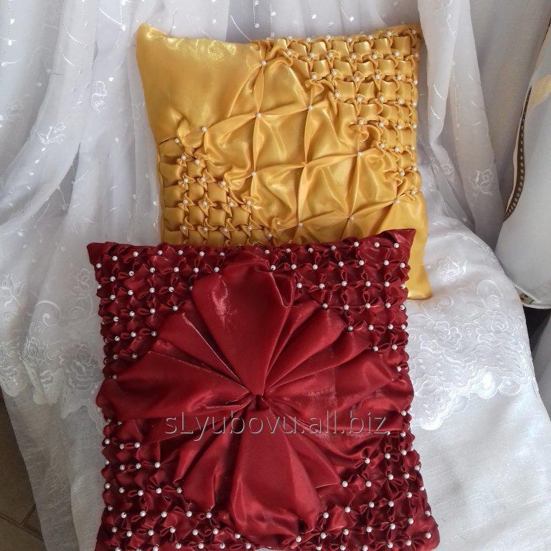 Заказать Изготовление декоративных подушек