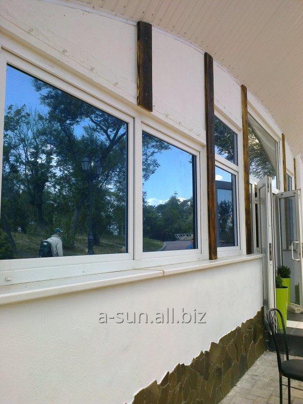 Заказать Тонировка фасадов зданий, бронировка стеклопакетов в ваших домах
