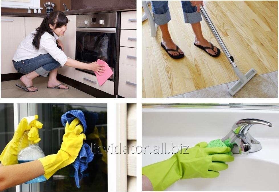 Заказать Уборка кухни и санузла