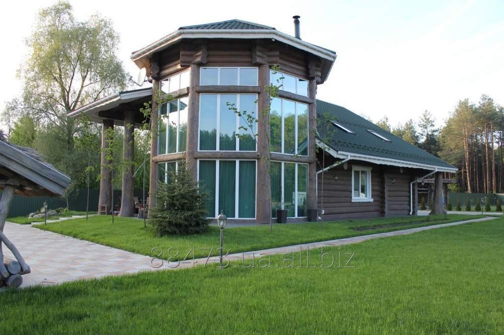 Заказать Строительство загородных домов из дерева