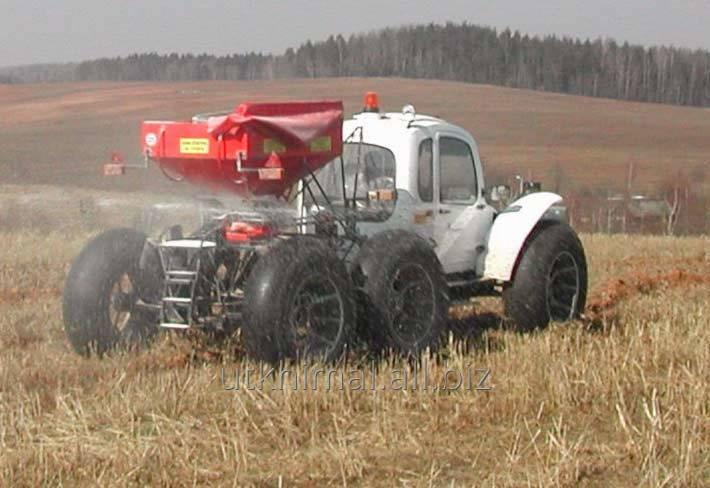 Заказать Внесене КАС-32 самоходными агротехническими комплексами Роса