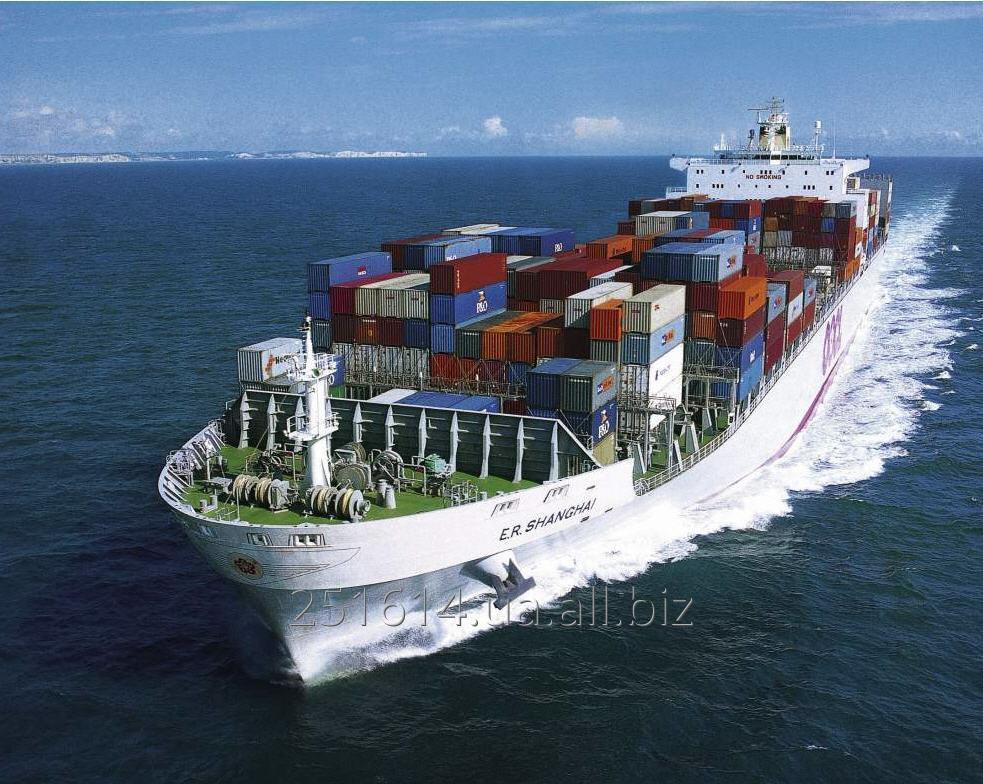 Заказать Морские контейнерные перевозки. Логистика морского транспорта
