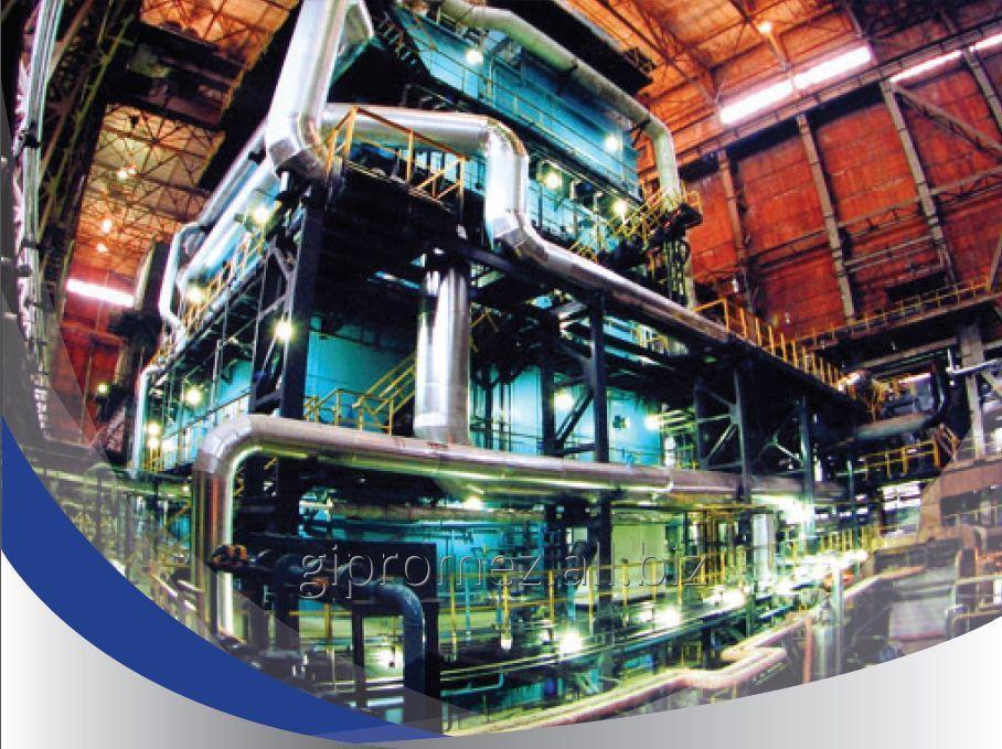 Заказать Тепло-газоснабжение и снабжение продуктами разделения воздуха
