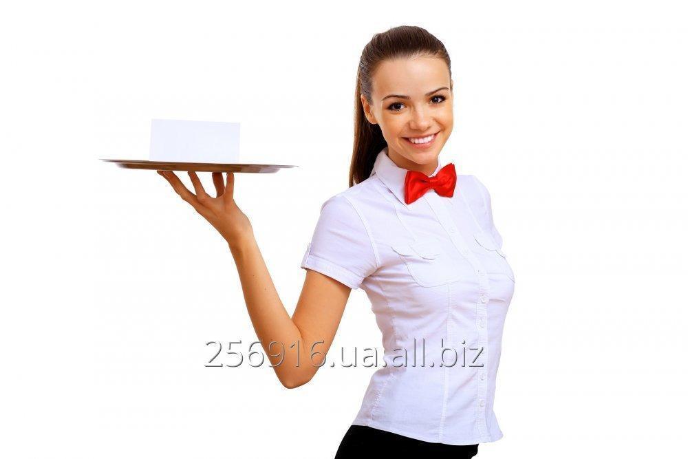 Заказать Требуется официантка