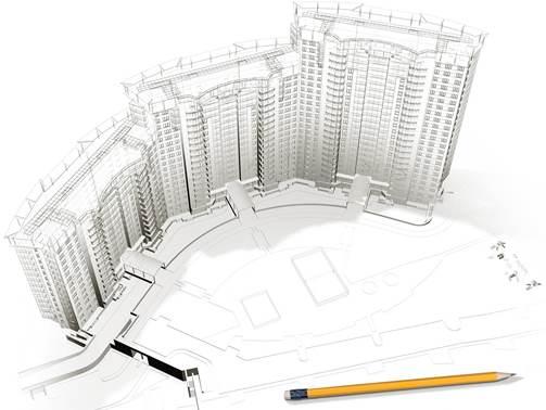Заказать Проектирование зданий, сооружений, реконструкций, ремонтов и др.