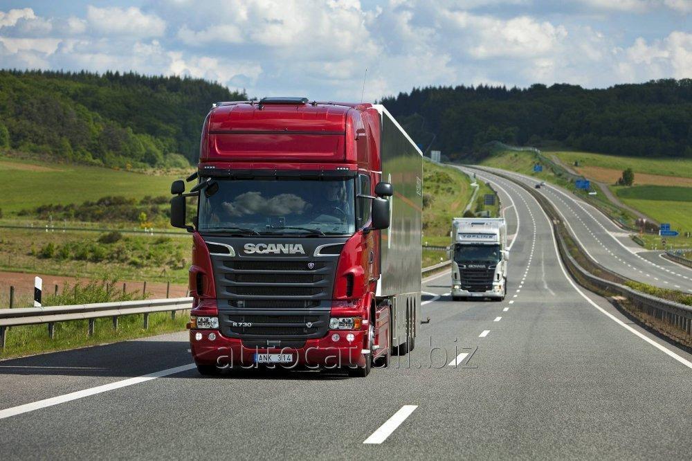 نقل الشحنات بالسيارات