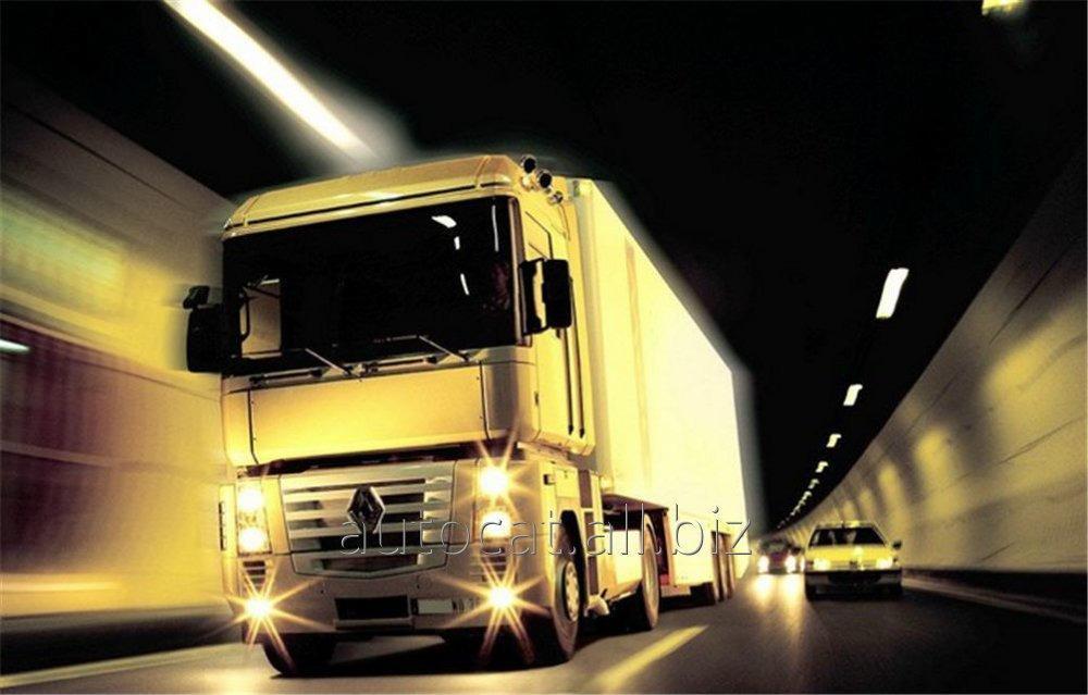 Автомобильные международные перевозки негабаритных грузов