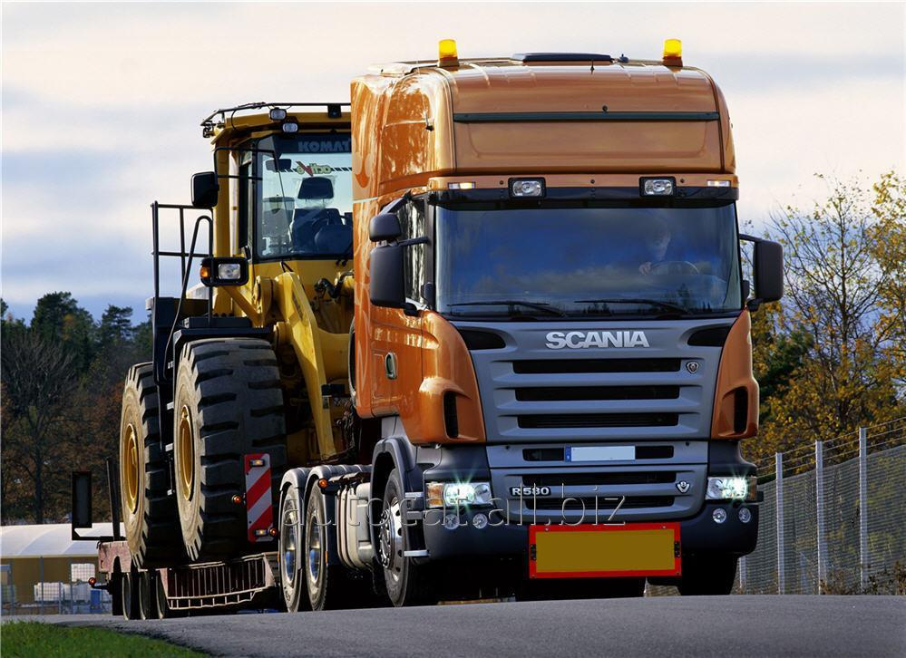 النقل بالشاحنات krupnogabarita