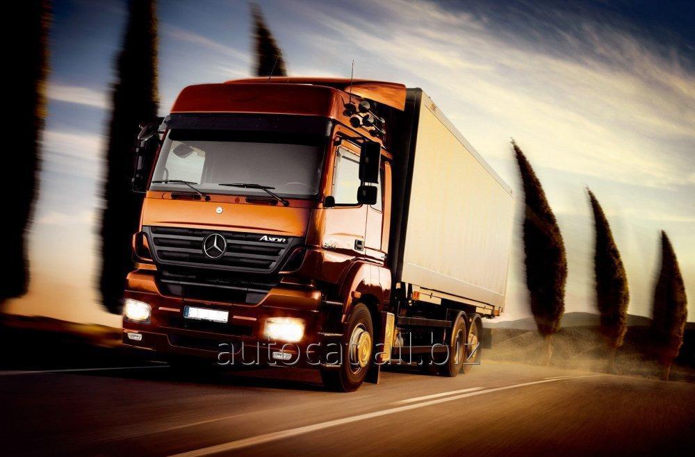 Автоперевозки грузовые международные