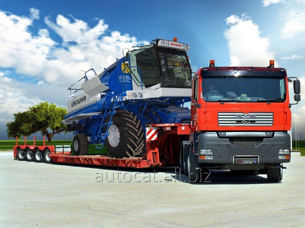 Грузоперевозки международные негабаритных грузов