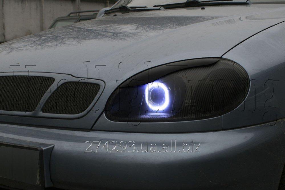 Installation of biksenonovy lenses in DAEWOO Lanos/Sens headlights