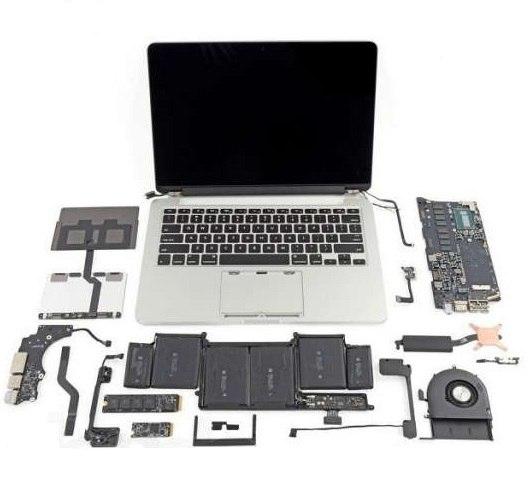 Ремонт комплектующих ноутбука в СПб