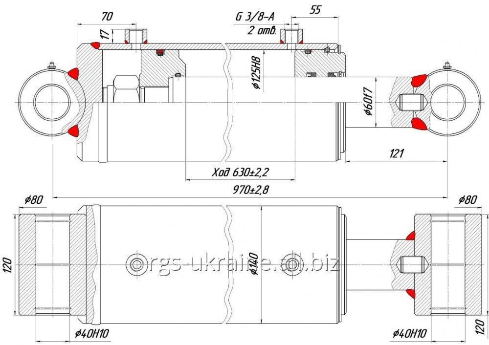 Order Production of hydraulic cylinders