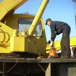 Заказать Услуга технического обслуживание грузоподъемных кранов