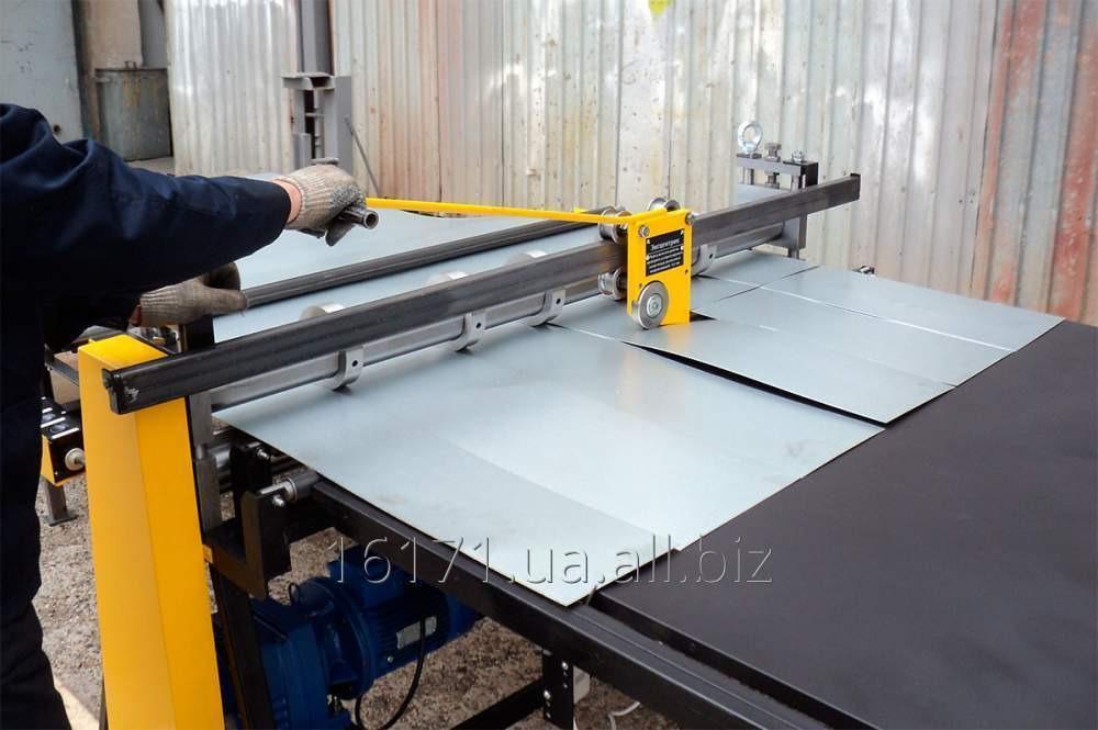 Заказать Услуга обработки гибочно-листовой, резка листа от 1 до 10 мм на гидравлических ножницах