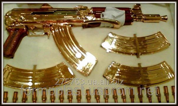Заказать Металлизация, напыление поверхностей золотым, металлизация поз золото