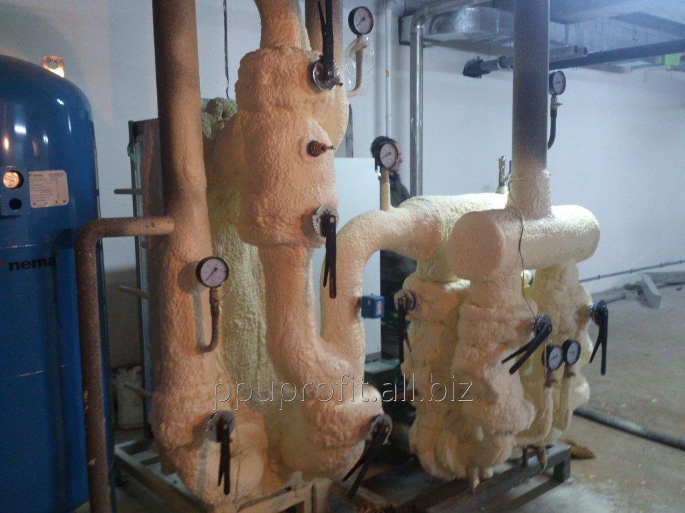 Заказать Пенополиуретан ППУ жесткий напыляемый. Пінополіуретан BASF, Німеччина