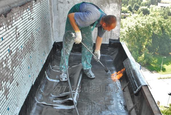 Заказать Ремонт крыши балконов Харьков
