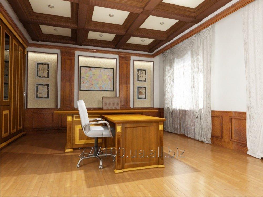 Заказать Дизайн интерьера кабинета руководителя