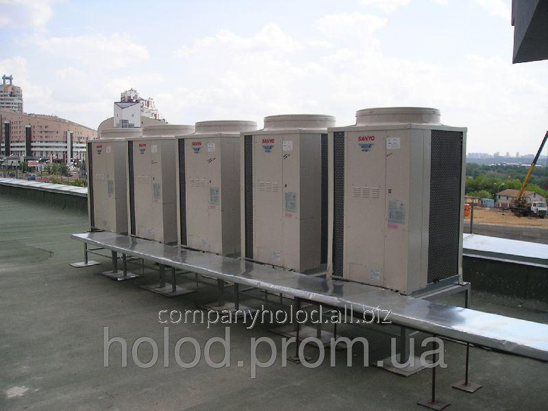 Заказать Ремонт и сервисное обслуживание систем промышленного кондиционирования