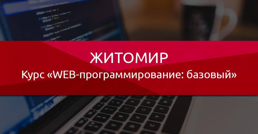 Заказать Курс WEB-программирование