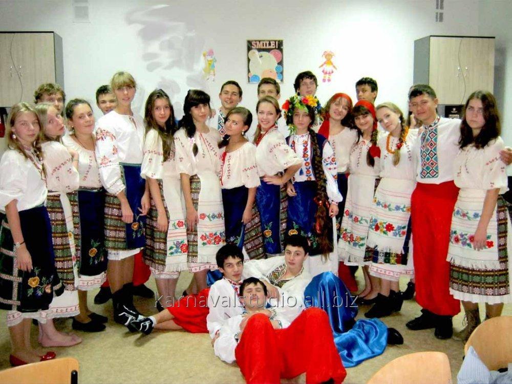 Заказать Прокат украинских национальных костюмов