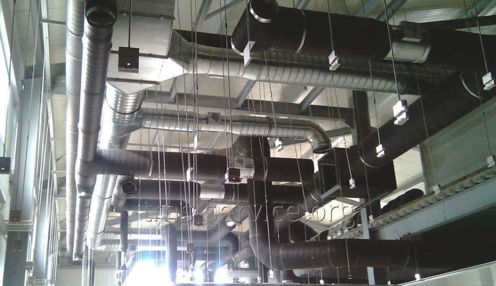 Заказать Монтаж систем кондиционирования и вентиляции