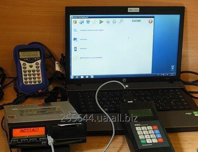 Заказать Сервисное обслуживание, калибровка цифровых тахографов